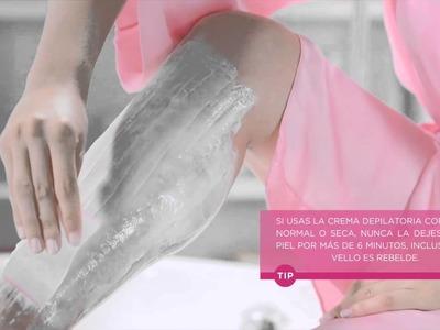 Tutorial: Crema depilatoria corporal Veet®