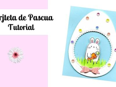 Tutorial DIY  Como hacer una Tarjeta de Pascua Facil y economica