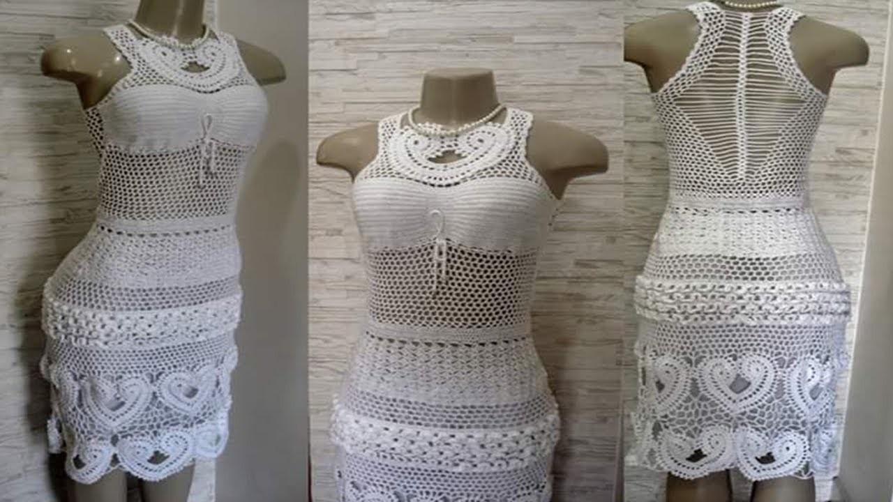 Vestido Tejidos Crochet