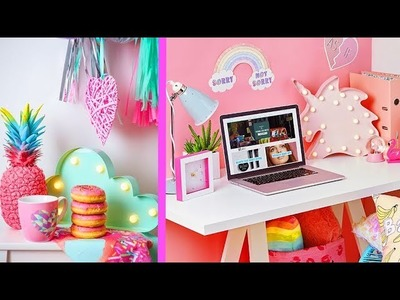 5 INCREIBLES IDEAS DIY PARA DECORAR TU CUARTO - ROOM DECOR IDEAS DIY