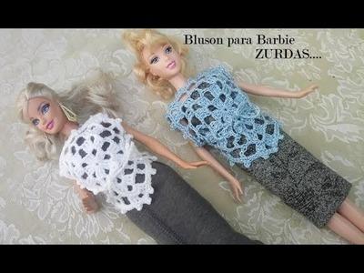 Bluson para Barbie ZURDAS