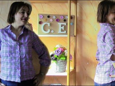 Camisa de dama.DIY