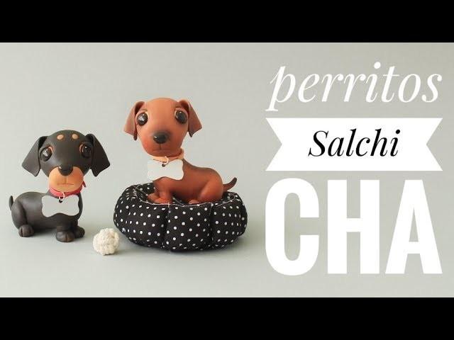 Cómo Hacer Un Perrito Salchicha | Porcelana Fría | Pasta flexible