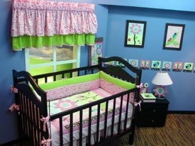 Como decorar el cuarto del bebe. (Como escoger las telas). 2.5
