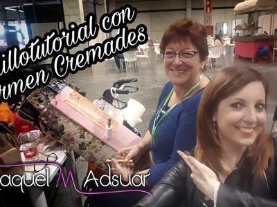Cómo enrollar bolillos con Carmen Cremades - Raquel M. Adsuar Bolillotuber