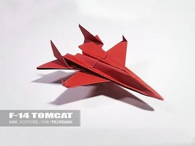 Como hacer un Avion de Papel  | F-14 Tomcat +