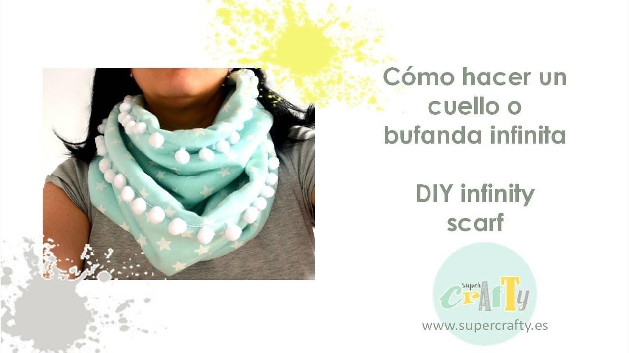 Cómo hacer un cuello o bufanda infinita