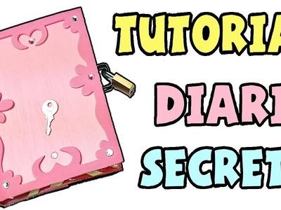 ???? Cómo hacer un diario secreto ????