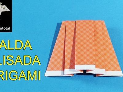 Como hacer una falda plisada origami
