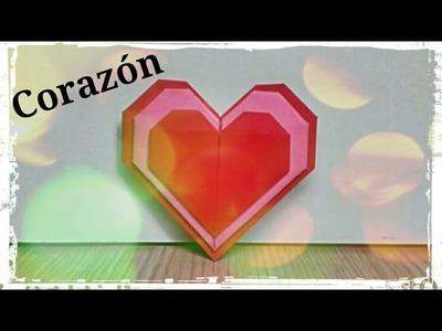 Corazón de Papel - Origami