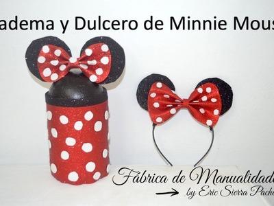 Diadema y Dulcero de Minnie. DIY.