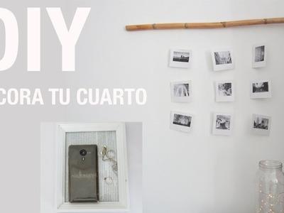 DIY 3 PROYECTOS DE DECORACION