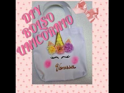 ♥♥DIY BOLSO UNICORNIO♥♥