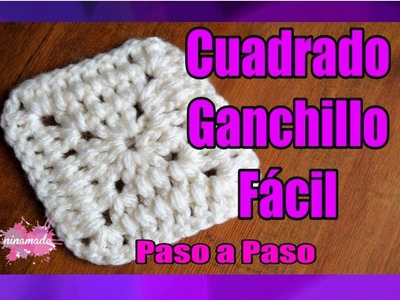 DIY. Cuadrado de Ganchillo Paso a Paso. Granny Square Very Easy