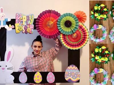 DIY Marco Para Fotos y Coronas Con Temas de La Pascua