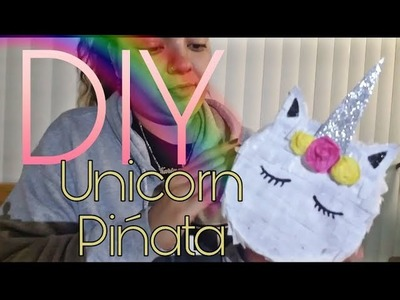 DIY Unicorn Pinata