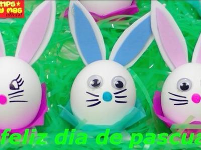 HUEVOS DE PASCUA! de conejitos