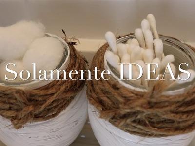 IDEAS PARA UN BAÑO PEQUEÑO  Y CON OLOR NATURAL Y CON DETALLE  QUE NOSOTRAS MISMAS HACEMOS (DIY)