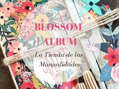 Mini álbum Blossom - La Tienda de las Manualidades
