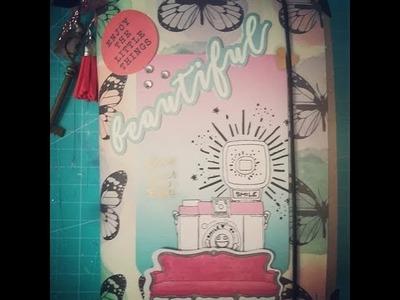 Mini álbum Scrapbooking fácil Simple Stories Beautiful.