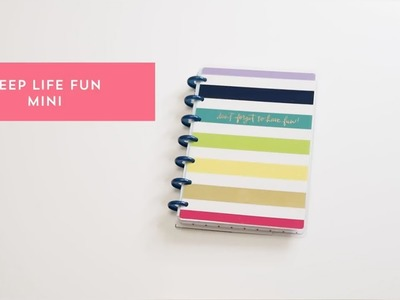 Mini Happy Planner Keep Life Fun - The Happy Planner 2018