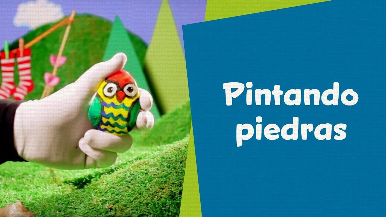 Pintando piedras | SuperHands en Español | Hazlo Tu Mismo | PlayKids en Español