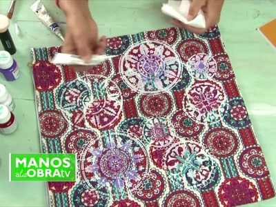 Pintar Almohadones - Cojines Pintados a mano - Pintar Tela