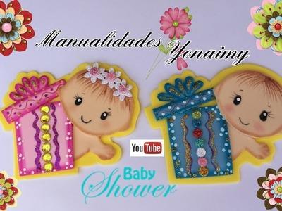 REGALITO CON  BEBE PARA BABY SHOWER
