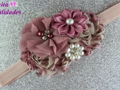 Tiara con Flores Diseño de ALIEXPRESS | Anita Manualidades