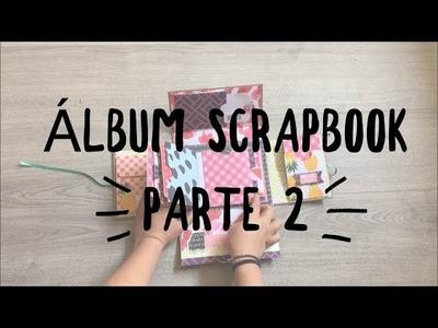 TUTORIAL Álbum Scrapbook Parte2 Mini Álbum y Sorteo