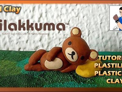 Tutorial como hacer al OSO RILAKKUMA en PLASTILINA, How to make in Full Modeling CLAY