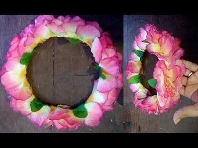 Tutorial: Corona de flores estilo MOANA