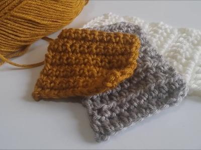 Tutorial crochet - Media vareta