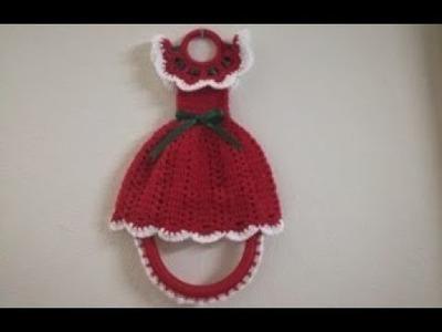 Vestido Porta Toalla a Crochet - Parte 1