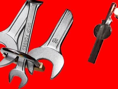 3 Maneras sorprendentes  de abrir un candado. 3 consejos sorprendentes con sus cerraduras
