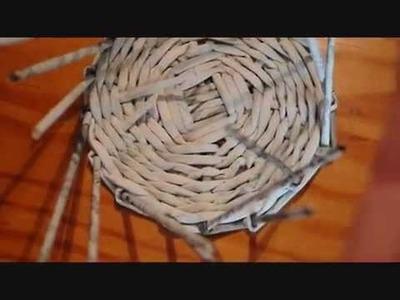 8.1. Cómo alzar los tubos: base trenzada.