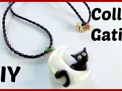 Collar de gatico en porcelana fría |♥L.C.M ♥