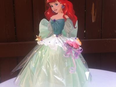 Como hacer centro de mesa de la Sirenita (The Little Mermaid) | ???? Casa Boutique ????