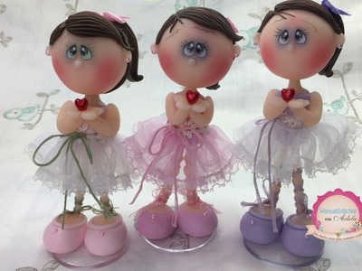 Como hacer un vestido y cabello para una muñeca de pocelana fria