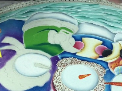 Como pintar un pie de árbol parte 2.Colaboración Hugo Espinosa y Miss Dorylu. que es un pirografo?
