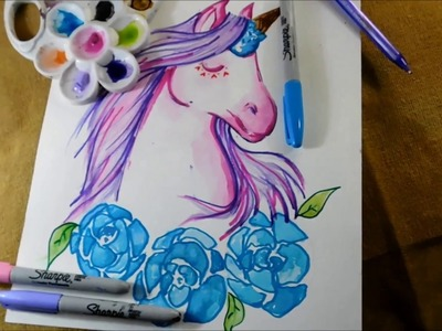 【Dibuja un UNICORNIO】 ✽PASO A PASO✽ - Isabelle Art -