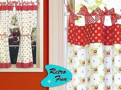 Diseño de cortinas de cocina
