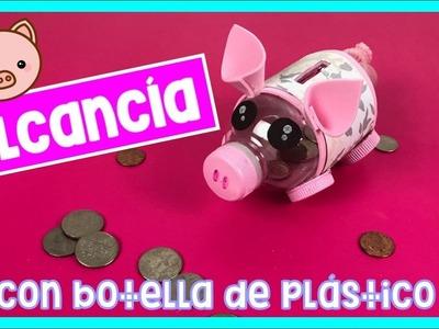 DIY | ALCANCÍA HECHA CON BOTELLA DE PLÁSTICO! ????