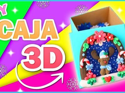 DIY CAJA NAVIDEÑA 3D.  REGALO ESPECIAL  - Ingenio KD