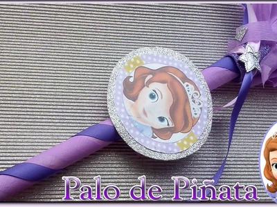 DIY Palo para piñata de la princesa sofia | Ideas para fiestas