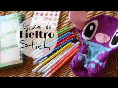 Estuche para los lápices de Stich