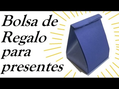 ★Fabulosa Bolsa regalo de papel para presentes★ -  Gift bag for San valentine