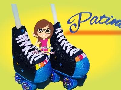 Fofucho patines paso a paso