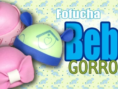 Gorros para fofucha bebe (3 estilos) - Baby fofucha hats (3 styles)