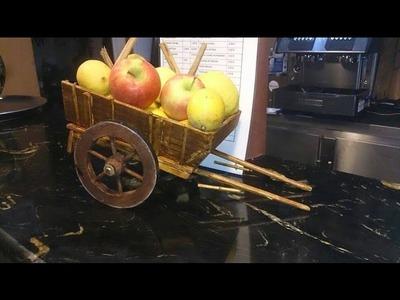Hacer Carro Antiguo de madera 1ª parte